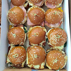 Assorted Brioche sliders thumbnail