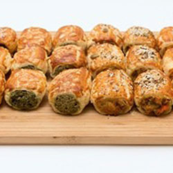 Assorted Savoury Rolls - Cocktail Size thumbnail