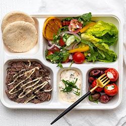Greek bento box thumbnail