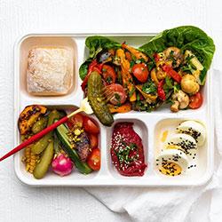 Vegetarian ploughmans bento box thumbnail