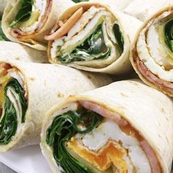 Gourmet breakfast wrap thumbnail