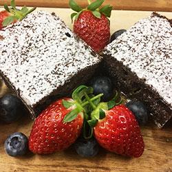 Brownies and berries thumbnail