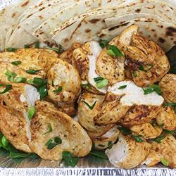 Basic grilled chicken platter thumbnail