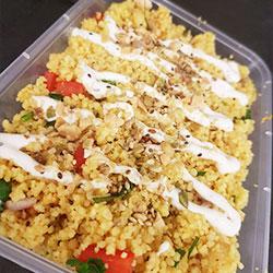 Moroccan couscous salad thumbnail