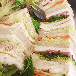 Triangle sandwich thumbnail