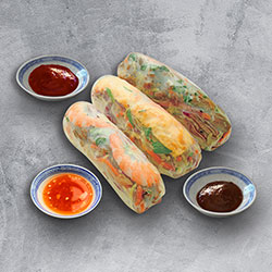 Assorted rice paper rolls thumbnail