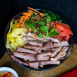 BBQ pork salad thumbnail