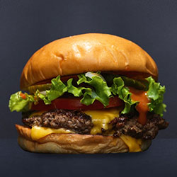 Cheese deluxe burger thumbnail