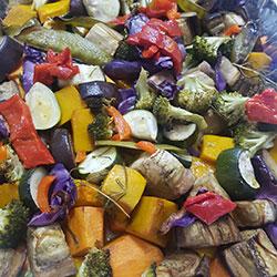 Winter roast vegetable salad thumbnail