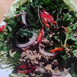 Thai chicken laab thumbnail