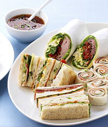 Mixed deluxe sandwiches thumbnail