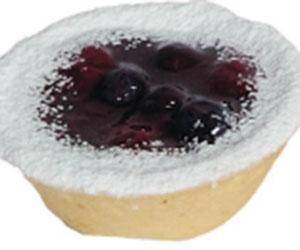 Berry custard tartlet thumbnail