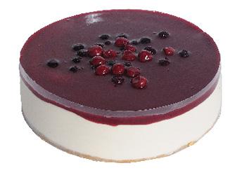 Cherry and berry cheesecake thumbnail