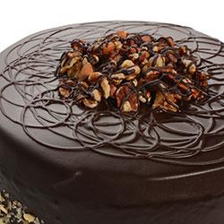 Flourless chocolate and almond cake  thumbnail