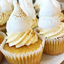 Orange and almond cupcake thumbnail