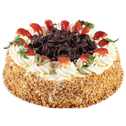 Strawberry Sponge Cake thumbnail