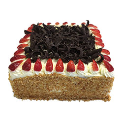 Rectangular group cake - serves 100 thumbnail