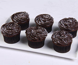 Chocolate sponge cupcakes - chocolate butter icing thumbnail