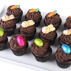 Easter chocolate mud cupcakes thumbnail