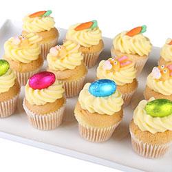 Easter vanilla cupcakes thumbnail