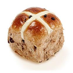 Hot cross buns - 8 cm - 6 pack thumbnail