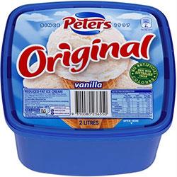 Vanilla ice cream - 2 litre tub thumbnail