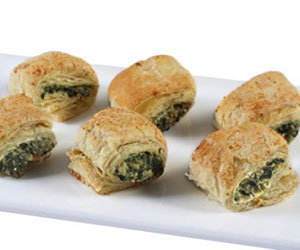 Spinach and feta rolls - mini thumbnail