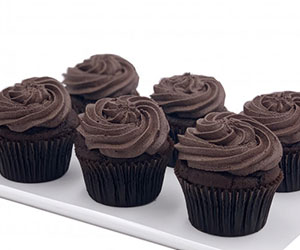 Vegan chocolate cupcakes - 7cm thumbnail
