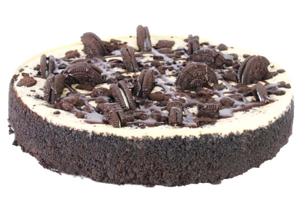 Cookies and cream baked cheesecake thumbnail