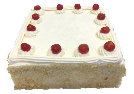Vanilla Sponge Jam and Cream Cake - Large thumbnail