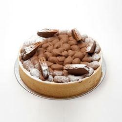 Cocoa malt cheesecake thumbnail