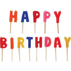 Happy birthday candles thumbnail