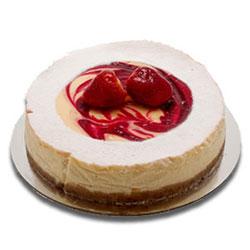 Strawberry swirl cheesecake thumbnail
