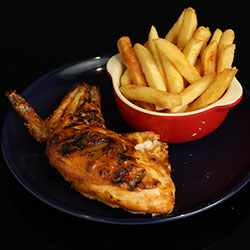 Chicken, chips and salad thumbnail