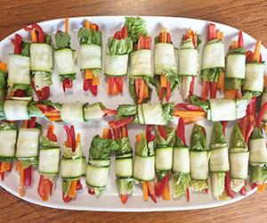 Veggie rolls thumbnail