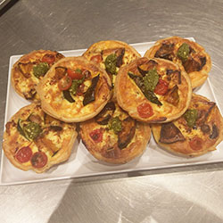 Homemade quiches - mini thumbnail