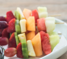 Fruit skewers - mini thumbnail