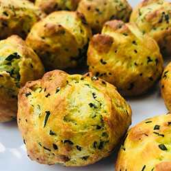 Spinach and three cheese scone thumbnail