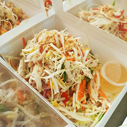 Vietnamese shredded chicken salad thumbnail