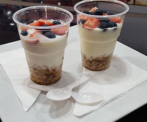Yoghurt with muesli thumbnail