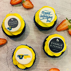 Classic cupcakes with company/event logo (for any event) thumbnail