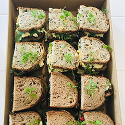 Breakfast sourdough sandwiches thumbnail