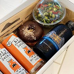 Gluten free and vegan lunch box thumbnail