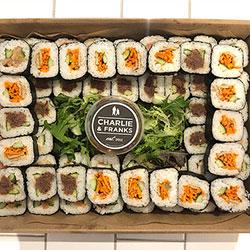 Uramaki sushi rolls platter thumbnail
