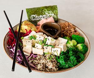 Tofu poke bowl thumbnail