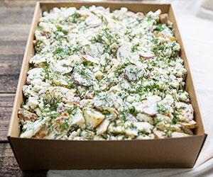 Potato and cauliflower salad (Low Gluten) thumbnail