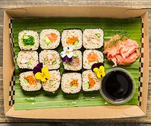 Brown rice sushi roll (Low Gluten) thumbnail