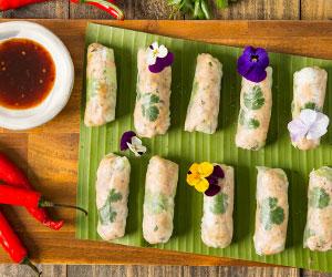 Vietnamese crystal rolls - small (Low Gluten) thumbnail