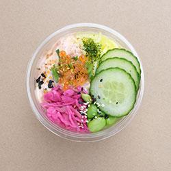 Salmon poke bowl (Low Gluten) thumbnail