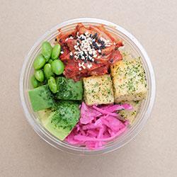 Tofu poke bowl (Low Gluten) thumbnail